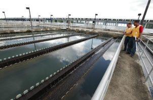 La planta potabilizadora de Chilibre abastece de agua potable  la gran parte de la ciudad capital y San Miguelito.