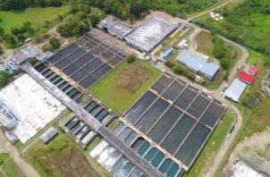 La planta potabilizadora de Chilibre es la más grande de la región centroamericana y una de las más viejas en construcción. Foto de cortesía