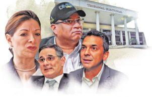 La disputa por la tercera casilla entre los precandidatos presidenciales por la libre postulación se intensifica a poco tiempo para terminar el periodo de recolección de firmas.
