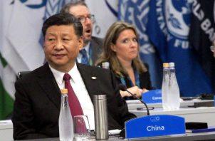 El presidente Xi Jinping estará visitando las esclusas de Cocolí en el Canal ampliado. Foto: EFE