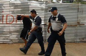 Detenidos provisionalmente por el homicidio de Rafael Acosta. Foto: Mayra Madrid.