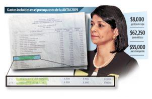 La Autoridad Nacional de Transparencia y Acceso a la Información (Antai) es dirigida por Angélica Maytín.