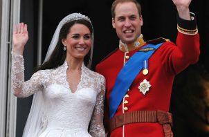 Príncipe William y Kate Middleton.