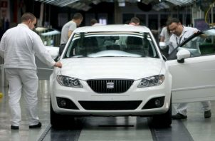La industria automovilística  se encuentra afectada. EFE