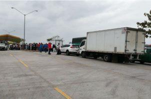 Desde el pasado mes de enero productores mayoristas y minoristas fueron trasladados a las instalaciones de Merca Panamá.  Foto/Tráfico Panamá
