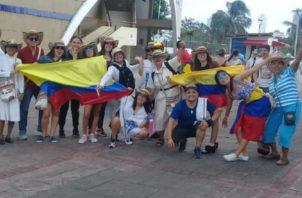 Peregrinos han visitado diferentes puntos turísticos, entre ellos, Panamá Viejo, Zona Libre de Colón, Miraflores y el interior del país. Foto: Cortesía