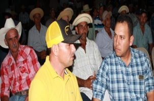 Ganaderos y productores pidieron respuestas al Gobierno. Foto: Thays Domínguez.