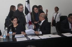 La comisión de Trabajo prohijó ayer el anteproyecto de ley No.32. Foto de Víctor Arosemena