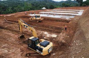 Los trabajos en la futura planta de Gamboa llevan 24% de adelanto, con un costo de 238 millones 927 mil dólares. Foto de cortesía