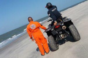 Se mantiene la búsqueda del hombre en Punta Chame. @Sinaproc_Panama