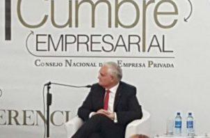 Jorge Luis Quijano, administrador del Canal de Panamá. Foto/Cortesía