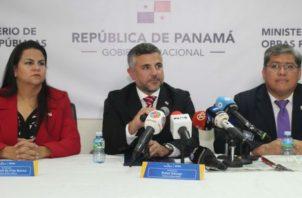 Ministro de Obras Públicas denuncia desgreño adminstrativo. Foto/Cortesía