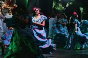 Espectáculo musical.  Instagram/Ballet Folclórico
