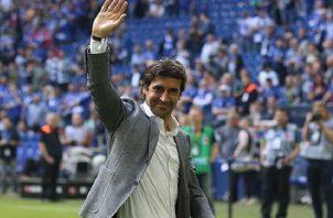 Raúl es un ídolo en el Madrid.
