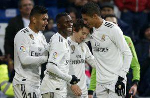 Modric autor del segundo gol de los merengues. Foto AP