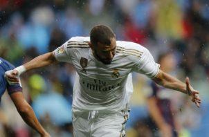 Karim Benzema anotó doblete. Foto AP