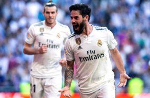 Isco anotó el primer gol del Real Madrid Foto EFE