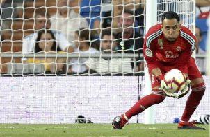 Keylor Navas recuperó la titularidad con Zidane. Foto AP