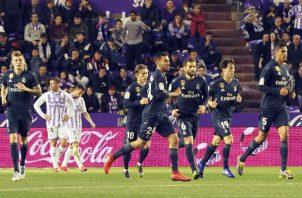 Real Madrid se lleva una victoria balsámica. Foto EFE