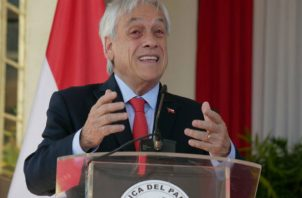 Piñera dijo que  lo del gasto público es de iniciativa del presidente. EFE
