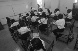 La semana de organización en la mayoría de las regiones educativas finalizó el pasado viernes. Foto: Panamá América