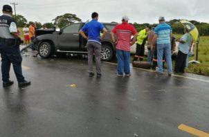 Las autoridades de Tránsito iniciaron las investigaciones, para deslindar responsabilidades en este caso.
