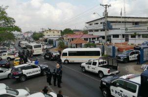 Los llevaron a los penales de la Nueva Joya y Tinajitas. Foto: Eric A. Montenegro.