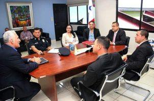 Los representantes de corregimientos expresaron su interés y disposición de apoyar este plan integral de seguridad ciudadana del gobierno central. Foto/Mayra Madrid
