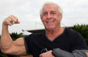 Ric Flair debutó como luchadir en 1972. Foto @ricflairnatureboy