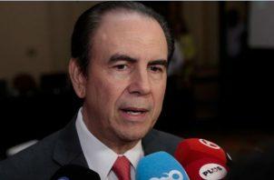 Superintendente de bancos Ricardo Fernández espera que los tiempos nos acompañen. Foto: Víctor Arosemena