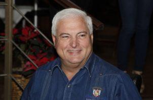 Ricardo Martinelli, candidato a alcalde del distrito de Panamá.