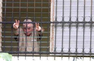 El expresidente Ricardo Martinelli fue sancionado por la Dirección General del Sistema Penitenciario. Foto: Panamá América.
