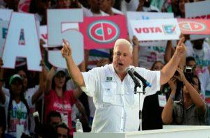 Ricardo Martinelli fundó Cambio Democrático en 1998 según datos del Tribunal Electoral. Foto: Panamá América.