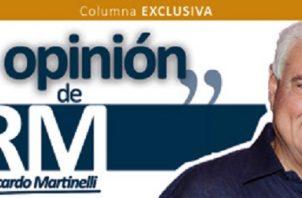 El expresidente Ricardo Martinelli hace un análisis de la realidad.