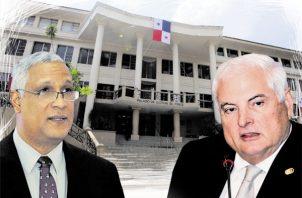 Corte Suprema debe declinar del proceso contra el expresidente Ricardo Martinelli, Luis Camacho González. Foto: Panamá América.