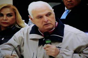 El expresidente Ricardo Martinelli ya lleva 200 días recluido en la cárcel El Renacer. /Foto Archivo.