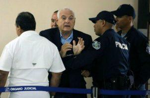 Ricardo Martinelli acudirá al juicio oral que se reanuda el próximo 22 de marzo. Foto: Panamá América.