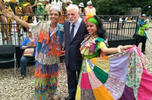 El expresidente Ricardo Martinelli fue invitado a la celebración oficial de los 500 años de fundación de la ciudad de Panamá.