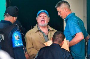 Pruebas contra Ricardo Martinelli en caso pinchazos fueron sacadas de un tinaco, Roniel Ortíz. Foto: Archivo.