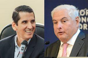 Rómulo Roux es presidente de Cambio Democrático y Ricardo Martinelli el fundador. Foto: Panamá América.