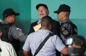 Expresidente Ricardo Martinelli tendrá un médico en cada una de las audiencias. Foto: Víctor Arosemena.