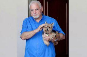 El expresidente Ricardo Martinelli actualmente tiene medida cautelar de depósito domiciliario.
