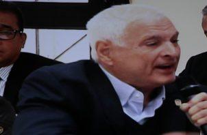 El expresidente Ricardo Martinelli.