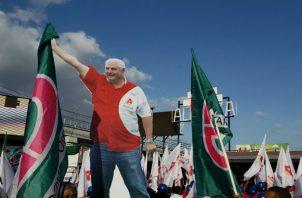 Ricardo Martinelli es postulado como candidato a la Alcaldía de Panamá por el Partido Alianza. Foto: Panamá América.