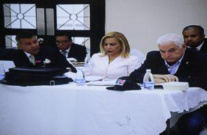El abogado Sidney Sittón responde a las objeciones presentadas por la fiscalía a sus pruebas. Foto/Víctor Arosemena