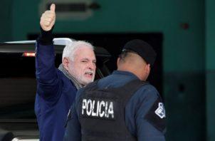 Ricardo Martinelli Berrocal manifestó ser víctima de una persecución política en su contra. Foto de Víctor Arosemena
