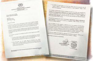 """Ninguno de los documentos que han sido aportados como diligencias de inspección ocular dentro de la carpeta del caso Ricardo Martinelli tiene """"estampado hash"""". Foto/Panamá América"""
