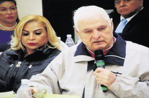 Exdiputado del Parlacen, Ricardo Martinelli.