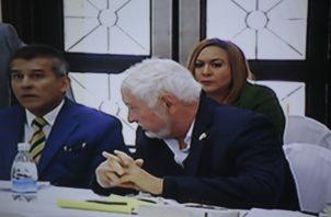 El expresidente Ricardo Martinelli también espera una aprobación para realizarse un cateterismo. Foto: Víctor Arosemena/Panamá América