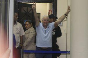 Después del 14 de enero, defensa de Ricardo Martinelli presentará recursos para solicitar su libertad.  Archivo